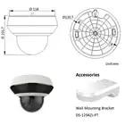 Hikvision Oem 4MP Poe Ip Ptz Camera 2.8 ~ 12 Mm Lens 4X Zoom Ondersteuning 2 Weg Audio Netwerk ptz Cam Ir 20 M IP66 H.265 + PTZ N2404I DE3 - 4