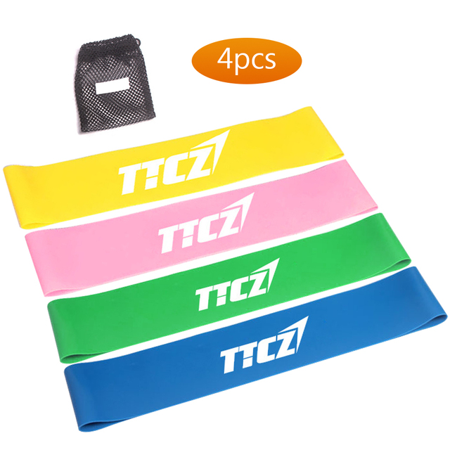 Fitness Equipments Body Building Elastic Rubber Resistance Bands Gym Yoga Latex Band Strength Training Gym Outdoor Fitness