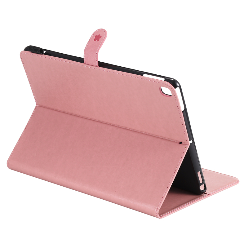 for iPad A2200 Cartoon Embossing Cover Apple Cat 7th-Generation A2198 A2232-Cover-Case