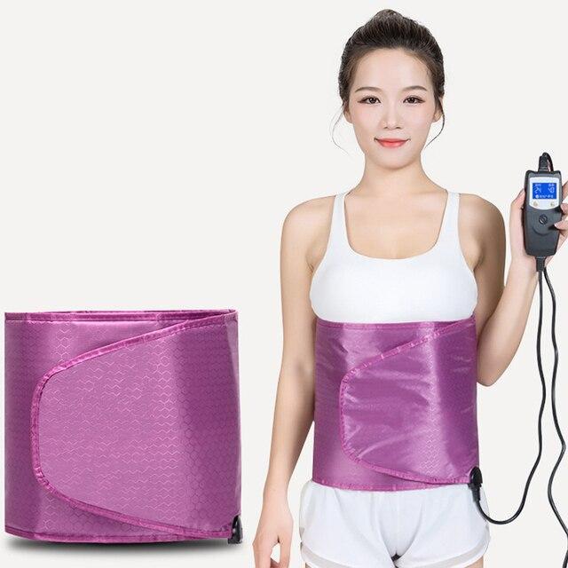 Amincissant la ceinture électrique de Sauna de Vibration de ceinture de Massage avec 2 moteurs perte de poids