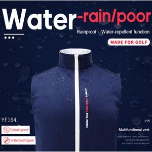 Image 3 - 1 Piece Golf Vest PGM Apparel golf Clothes Mens vest autumn and winter thermal vest windproof waterproof jacket