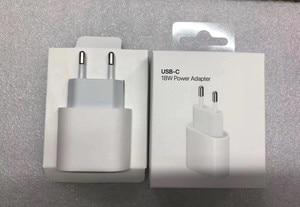 Image 4 - オリジナル 18 ワット pd 急速充電器 apple の iphone 11 プロマックス xs xr 7 8 プラス ipad の純正 usb タイプ c ケーブル急速充電アダプタ