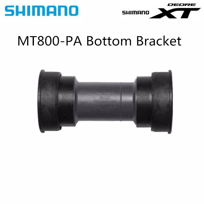 SHIMANO XT BB-MT800 EXTERNAL BEARING BLACK BICYCLE BOTTOM BRACKET