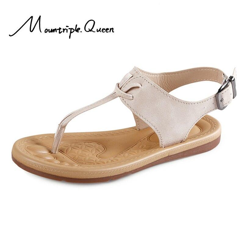 2019 New Fashion Summer Non-slip High quality fabrics Women's Toe Sandals