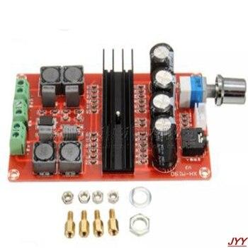 TDA3116D2 XH-M190 high-power digital power amplifier board TPA3116 dual-channel amplifier board 12-24V dc 12 24v 15 15w digital amplifier board module volume adjustable dual channel