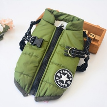 Pet Dog Jacket Clothes Winter Thickening Warm Dog Coat Jacket Puppy Pet Clothes For Dogs Vest Ropa Perro