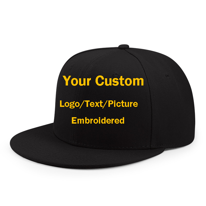 1Pcs Personalized Customized DIY Text/logo/picture Embroidered Baseball Cap For Men&Women Truck Caps Dad Hat Snapback Hats