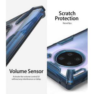 Image 5 - Ringke Fusion X Voor Huawei Mate 30 Pro Case Dual Layer Heavy Duty Drop Bescherming Pc Clear Back Cover En zachte Tpu Frame Hybrid
