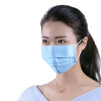 100 Pcs Surgical Medical Masks Safe Breathable Health Mask Anti Flu Dust-proof Ear-loop 3-Ply Non-Woven Disposable Face Masks