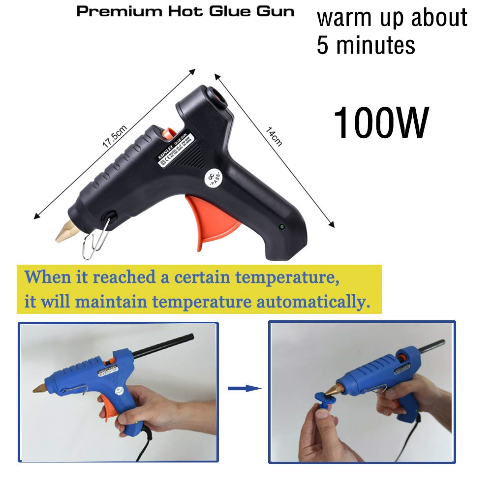 Tools : CAR BODY DENT REPAIR TOOL CAR DENT REMOVE TOOLSKIT WITH SUCTION CUPS GLUE GUN FOR VEHICLE