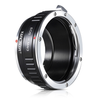 K&F CONCEPT For EOS M4/3 Camera Lens Mount Adapter Ring for Canon EOS EF Mount Lens for M4/3 MFT Olympus PEN E P1/Panasonic G