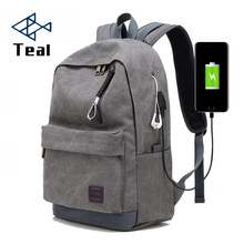 Men Canvas Backpack Vintage Bags for Teenagers Travel Daypack College Student School Backpack fashion male backpack new college backpack casual girls teenagers shoulder bags canvas zipper daypack book bag travel backpack