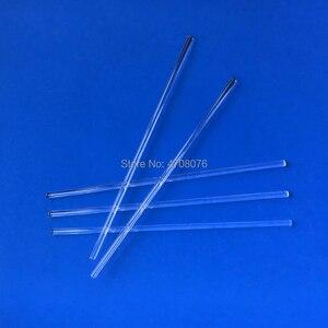 Image 4 - 6*250mm בורוסיליקט זכוכית ערבוב מוט שקוף מעבדה ערבוב מקל/תרווד זכוכית סטירר לניסוי מדעי