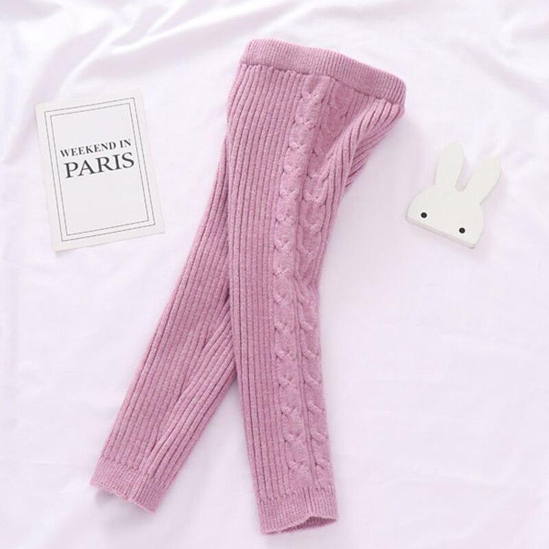 Autumn Toddler Boys Girls Clothing Set Sweater + Pants 2pcs/Suit Infant Boys Knit Suit Thick Warm Winter Baby Girls Boys Clothes 5