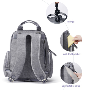 Image 3 - Sunveno Large Capacity Diaper Bag Fashion Maternity Baby Bag Backpack Stylish Stroller Baby Diaper Bag For Mom