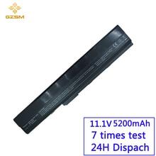 GZSM Laptop Battery A32-K52 For Asus A52 A52J K42 K42F K52F K52J X67 X5I 70-NXM1B2200Z A31-K52 A31-B53 A41-K52 A42-K52 battery все цены