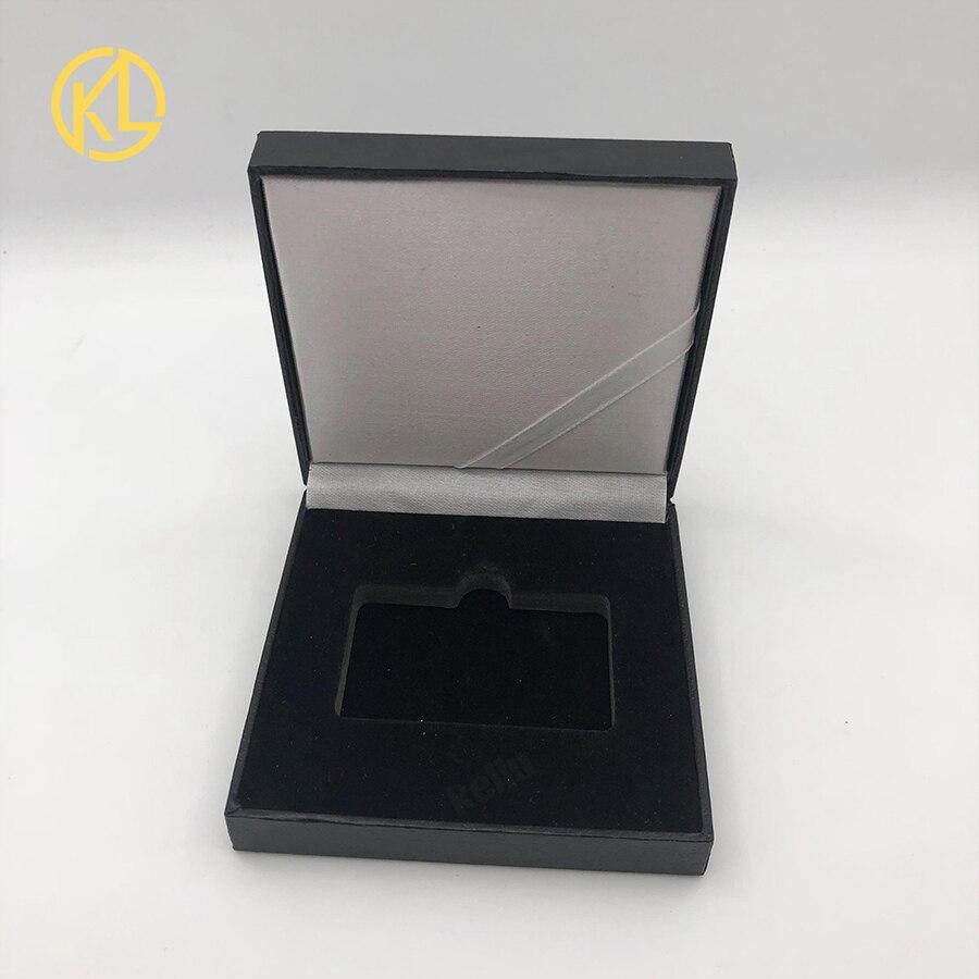 Золотой/посеребренный эфириум монета Биткоин памятная монета художественная коллекция подарок физическая имитация из металла вечерние украшения для дома - Цвет: bar empty box