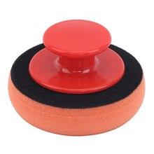 5 Cái/bộ Sáp Rửa Ba Lan Miếng Lót Mút Xốp Bọt Làm Sạch Bộ Terry Vải Microfiber Applicator Miếng Lót Kẹp Tay Cầm Xe Ô Tô tạo Kiểu Tóc