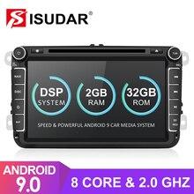 Isudar 2 DIN Tự Động Phát Thanh Android 9 Cho VW/Golf/TIGUAN/Skoda/FABIA/Nhanh Chóng/ghế Ngồi/Leon Đa Phương Tiện GPS Octa Core Rom 32GB Camera FM