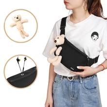 Bags Wallet Belt Waist-Bag Fanny-Packs Chest-Pouch Phone Canvas Sport Bear MABULA