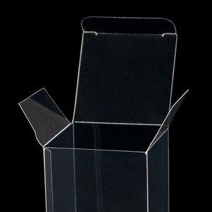 Image 4 - 50 قطعة هدية شفافة واضحة كاندي صندوق مربع أكياس الشوكولاته البلاستيكية صناديق هدية الكريسماس صندوق الزفاف لصالح ديكور حفلات الحدث