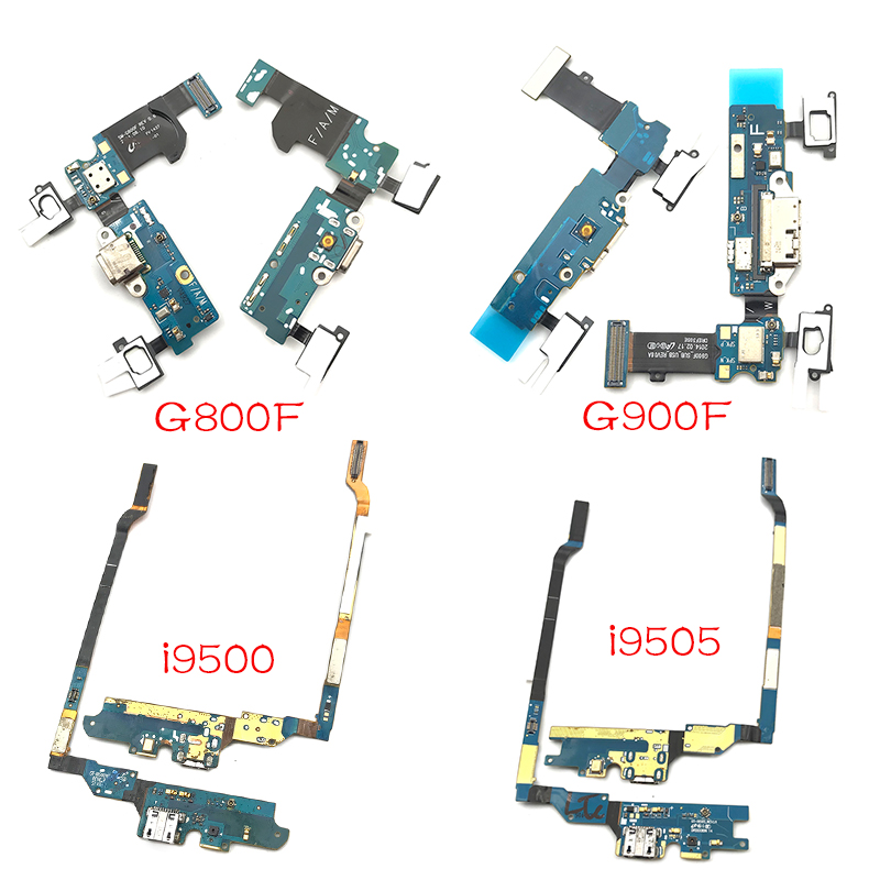 USB Dock Charger Connector Board Replacement Part For Samsung Galaxy S4 S5 Mini I9500 I9505 I337 I9190 G900F G800F