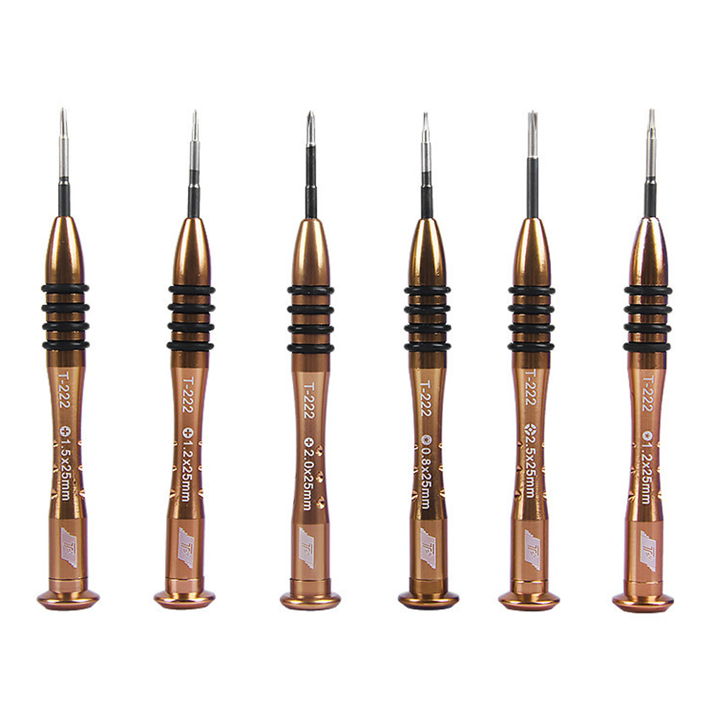 Precision Screwdriver P2 P5 0.8 1.2 Pentalobe T3 T4 T5 T6 Y 2.0 1.2 1.5 2.0 Phillips Flatted For Macbook Air / Pro Phone