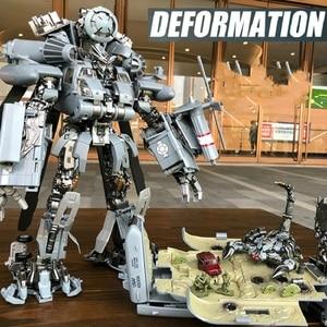 Image 2 - Фигурка робот, 30 см SS08, фигурка из сплава для скрытых теней, трансформация, WJ M05