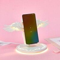 QI carregador sem fio vertical Para Apple Relógio 4/3/2 Iphone XR XS Max X 8 plus Samsung galaxy S9 huawei Companheiro 20 carregamento sem fio|Pulseira do relógio| |  -