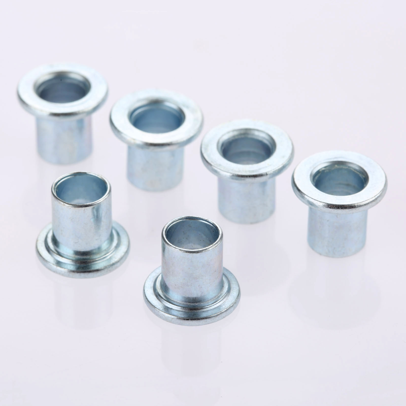 16Pcs Iron Roller Skate Wheels Special Accessories Center Bearing Bushing Spacers For Skating Wheels 608/688 Fit 8mm Bearings