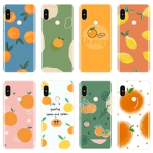 Back Cover For Xiaomi Redmi Note 6 Pro 5A Prime 5 4 4X Soft Silicone Lemon Phone