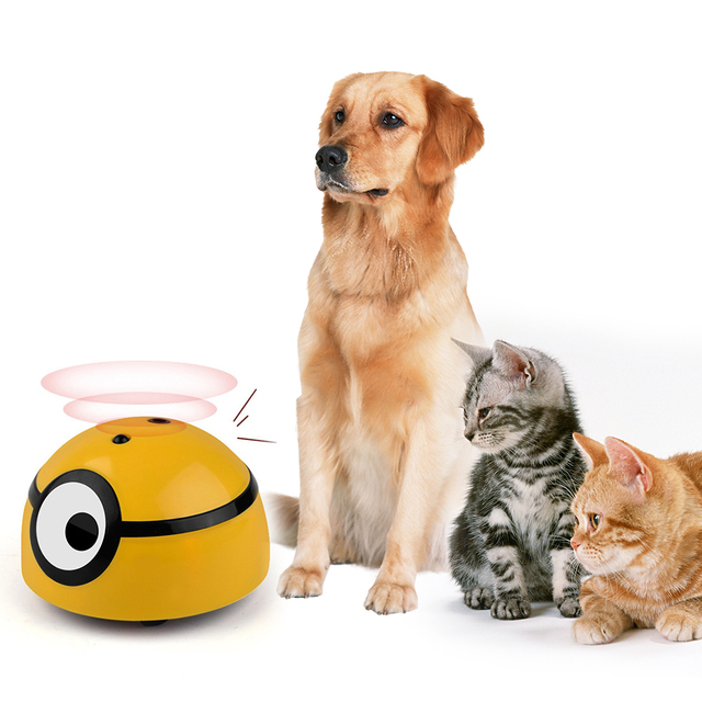 Intelligent Escaping Toy Cat Dog Automatic Walk Interactive Toys For Kids Pets Infrared Sensor Toy Electric