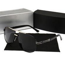 Polarized Sunglasses Men Brand Designer Mercede 746 Oversized Sunglasses