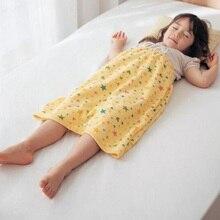 Детская многоразовая Водонепроницаемая юбка для подгузников, моющаяся многоразовая моча, Детские хлопковые подгузники для новорожденных подгузник для тренировок