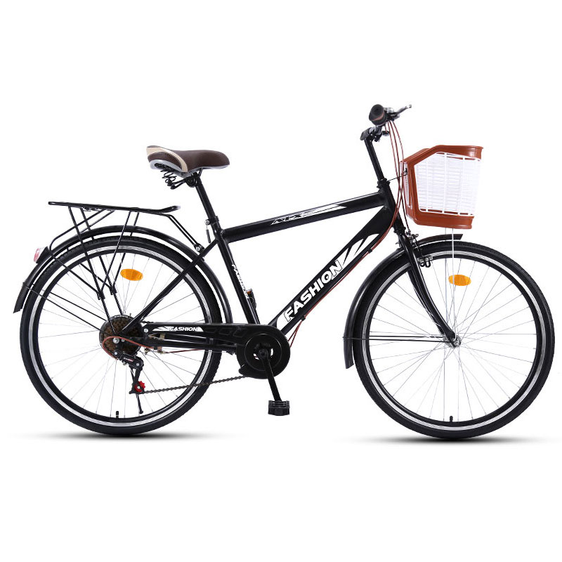 Road Bike 26 inch 6 speed Portable Shift Commuter Retro travel Student Adult Bicycle Selling Men And Women image
