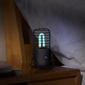 Image 3 - Youpin Xiaoda עיקור שולחן מנורת UV אוזון כפול 99.9% שיעור עיקור אולטרה סגול ריי להרוג חיידקים