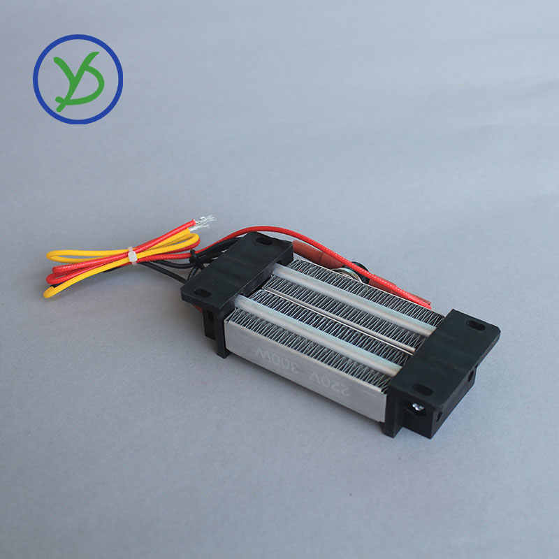 Oberfläche Isolierte 300W 220V Thermostat PTC inkubator heizung keramik luft heizung Elektrische heizung heizung element 120*50mm AC/DC