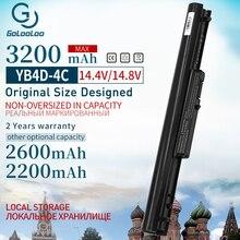 3200 мАч аккумулятор для ноутбука hp 695192-001 H4Q45AA HSTNN-YB4D VOLKS для павильона Sleekbook 14-b032tx 15-b002ej