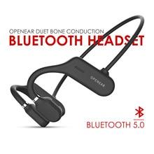 2020 novo as3 ar condução óssea fone de ouvido bluetooth 5.0 gancho fones com microfone para handsfree chamando ipx5 à prova dwaterproof água