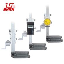 Электронный цифровой штангенциркуль цифровой дисплей циферблата датчик высоты 0-200 0-300 мм с датчик высоты измерительный прибор суппорты