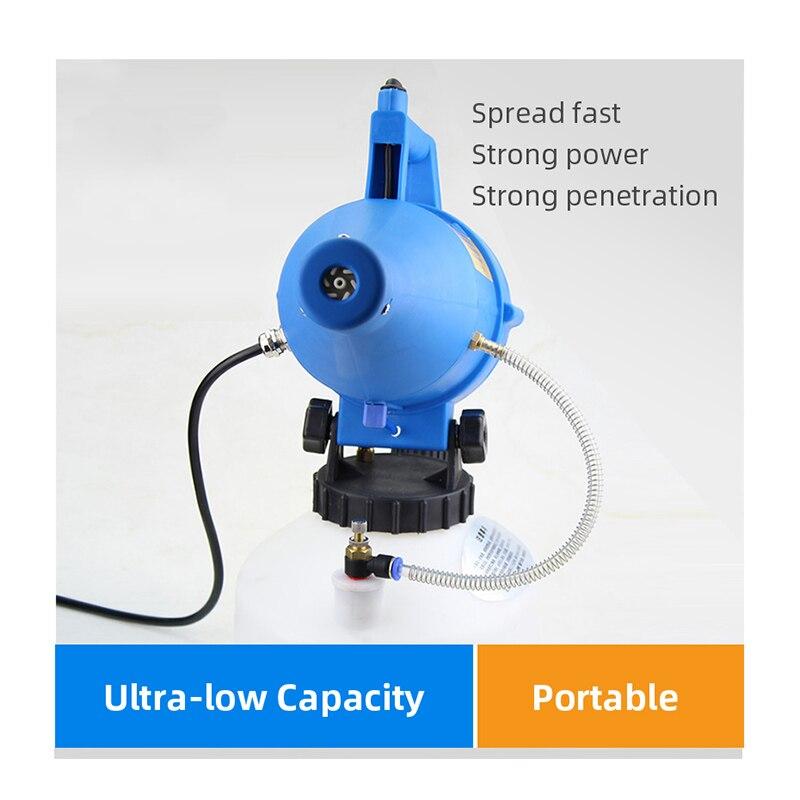 Automatic Disinfectant Spray Machine 4.5L 220V ULV Mist Duster Electro Sprayer  For Viruses Killers Garden Sprayer