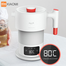 Xiaomi Mijia Deerma 0.6L Folding Portable Water Kettle For Home Travel Mini Handheld Electric Water Automatic power off kettle