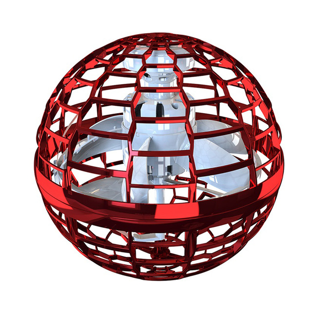 Flying orb ball toy