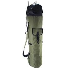 Fishing Portable Multifunction Nylon Fishing Bags Fishing Rod Bag Case Fishing Tackle Tools Storage Bag