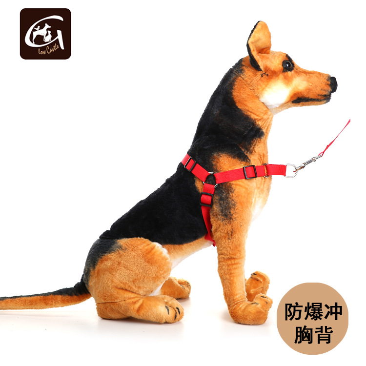 Guangzhou Dog Supplies Pp Chest Traction Easy Walk Training Dog Chest Belt Riot Rushed Traction Harness