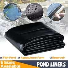 0.35mm Black Fish Pond Liner Cloth Home Garden Pool Reinforc