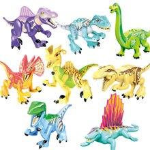 8 шт/компл с динозавром «Мир Юрского периода» цифры тираннозавр