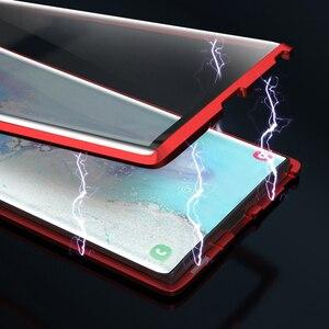 Image 3 - Funda de teléfono con tapa adsorción magnética para Samsung A51, A21s, A71, A30s, A50, M30s, S20, cubiertas traseras Ultra, Samsun S 20 Plus A 51