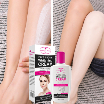 Collagen Milk Bleaching Face Cream skin whitening Moisturizing cream Body Lotion skin lightening cream Underarm whitening cream недорого
