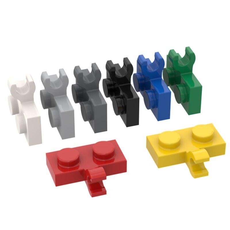 BuildMOC, совместимые сборы, частицы 11476, 1x2 для строительных блоков, детали «сделай сам», образовательные детали, игрушки